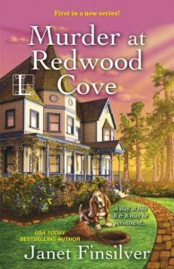 Updated cover of MURDER AT REDWOOD COVE