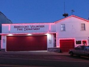Mendocino Fire Department Lights
