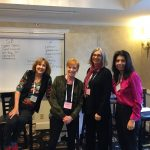 Author Janet Finsilver, writer of the Kelly Jackson cozy mystery series at the San Francisco Writers Conference.