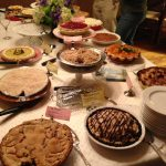 Pies at a pie party that will be in my fourth Kelly Jackson cozy mystery.