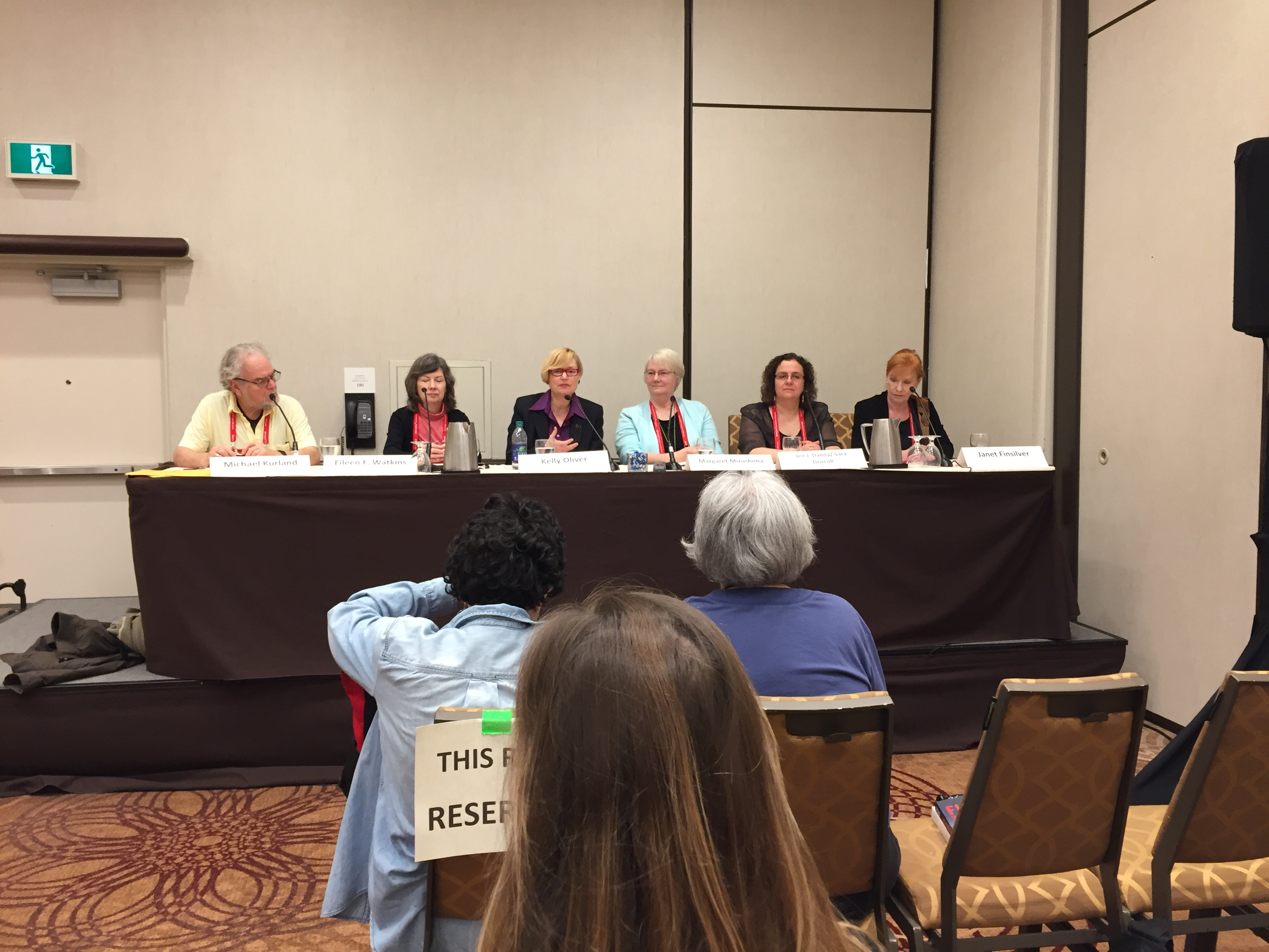 Bouchercon mystery conference panel regarding what dogs and cats add to our mystery books.